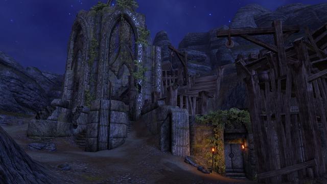 Entrée du donjon Ayelid