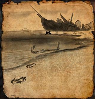 Carte aux trésors du Domaine aldmeri