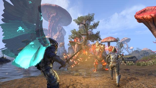 TESO Morrowind Warden Wings