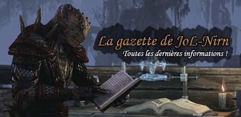 The Elder Scrolls Online - La gazette de Jol-Nirn : ce qui s'est passé en décembre