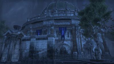 Le Temple de l'Unique est installé au centre du quartier