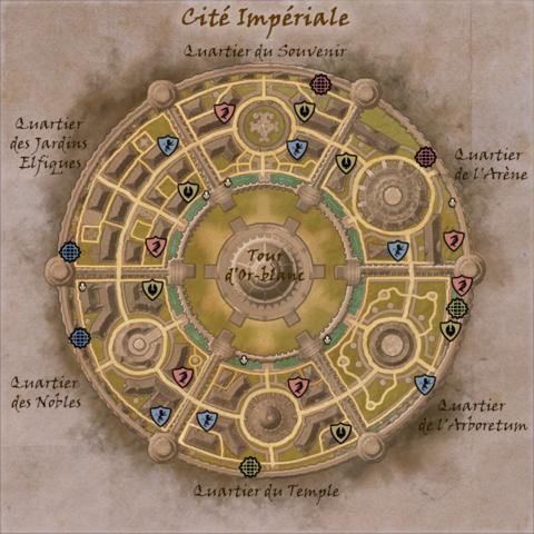 Quartiers de la Cité Impériale