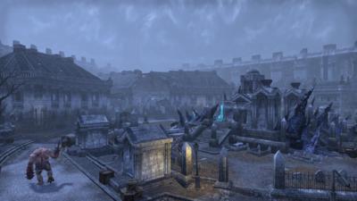 Les mausolées tiennent les vivants en respect