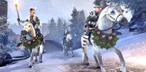 The Elder Scrolls Online - Soldes d'Hiver et monture offerte