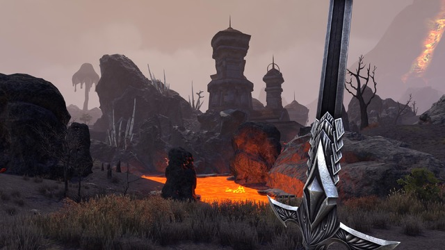 TESO Morrowind Ash Lands
