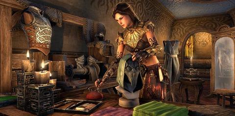 The Elder Scrolls Online - Présentation de l'atelier de tenue