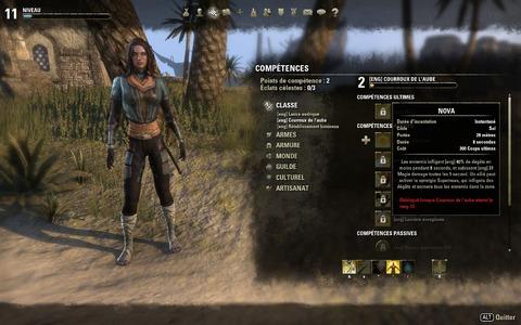 The Elder Scrolls Online - Choisir son personnage : les classes d'Elder Scrolls Online