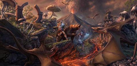 The Elder Scrolls Online - Morrowind : une série de vidéos avec Naryu et un fond d'écran
