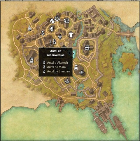 The Elder Scrolls Online - Autels de reconversion