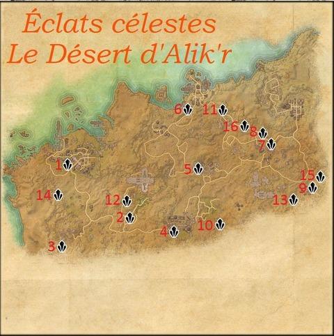 Éclats Célestes : Le Désert d'Alik'r