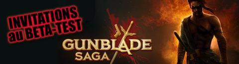 2000 invitations au bêta-test de Gunblade Saga - MàJ