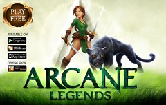 Arcane Legends maintenant disponible sur plateformes iOS