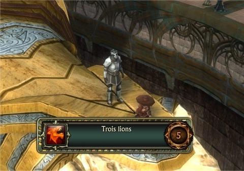 Exploit Les trois lions