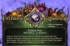 Festival d'été 2013 - Généralités