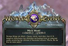 La semaine des Mecha