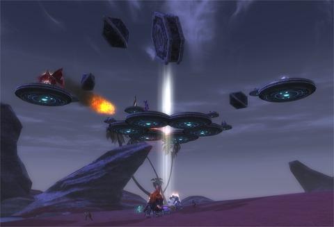 Un Bastion normal, avec une seule couche aérienne améliorée par les joueurs