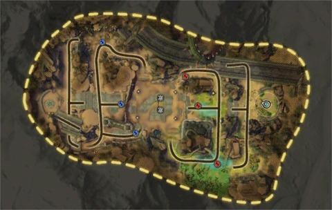 Carte BG Crête des Karthans