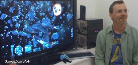 """Gamescom 09 : Star Trek Online présenté """"behind the doors"""""""