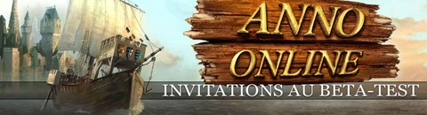 2000 invitations au bêta-test d'Anno Online