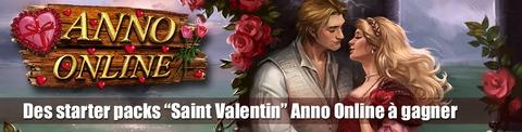 Anno Online - 200 starter packs « Saint Valentin » pour bien débuter dans Anno Online