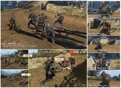 Des mercenaires à recruter pour former des armées