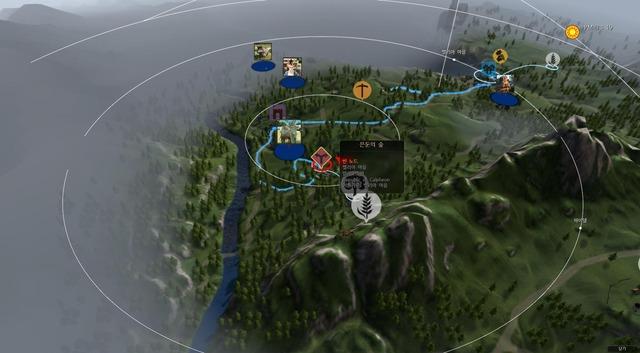 Map routes commerciales