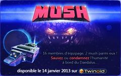 Mush est officiellement disponible pour (tenter de) sauver l'humanité