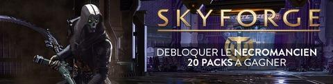 Jeu-concours : 20 codes à gagner pour débloquer le nécromancien de Skyforge sur PlayStation 4