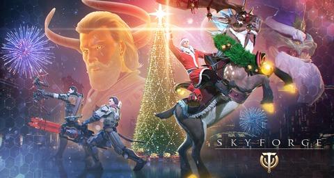 Skyforge - Skyforge célèbre les fêtes de fin d'année en vidéo