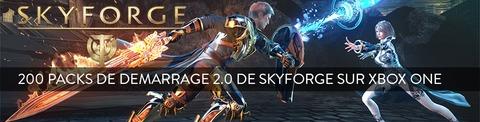 Skyforge - Distribution : 200 packs de démarrage 2.0 pour la version Xbox One de Skyforge à gagner