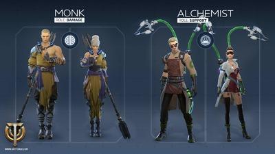 Moine / Alchimiste