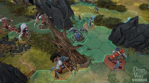 Dogs of War Online - Les champions de sortie sur l'échiquier de Dogs of War Online