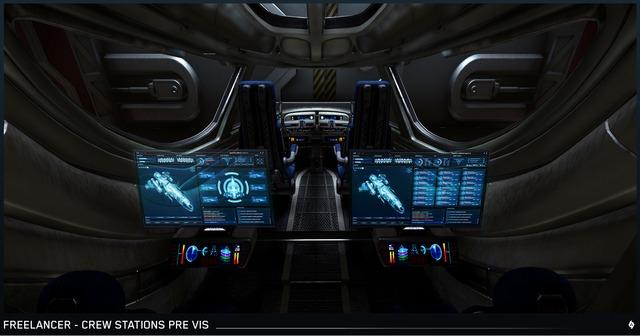 Stations d'équipages du Freelancer