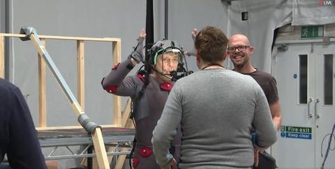 Mark Hamill sur le tournage de SQ42