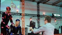 Un studio de motion capture pour objectif