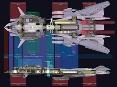 Retaliator, le vaisseau de classe supérieure de Star Citizen en images conceptuelles