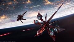Du vaisseau extraterrestre de sortie dans Star Citizen