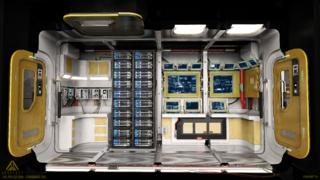 Intérieur du Vanguard Sentinel