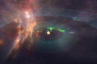 Système Sol vu depuis la StarMap