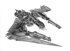 Analyse d'un vaisseau de guerre Vanduul