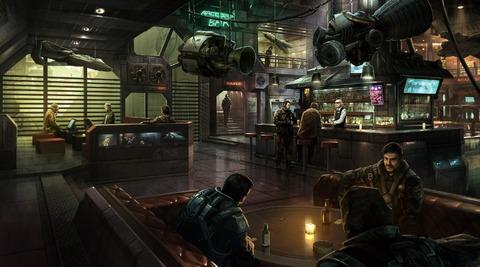 Où trouver à boire dans Star Citizen ? Le bar évidemment