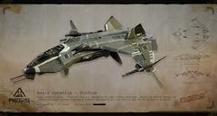 Le chasseur Gladius s'illustre en images conceptuelles