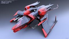 Vaisseau de course sponsorisé AMD et batailles au jetpack sur Star Citizen