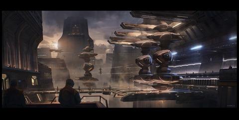 Premier aperçu du monde extra-terrestre Rihlah IV