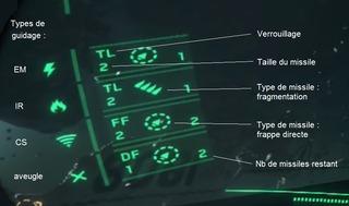 Types de missiles