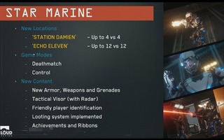 Fonctionalites de Star Marine
