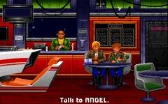 Dans Wing Commander la borne de simulation etait dans le bar du Tiger's Claw