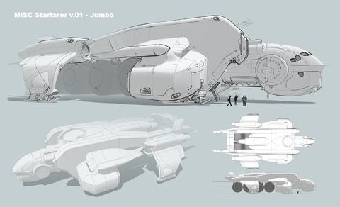 Premières images du vaisseau tanker Starfarer
