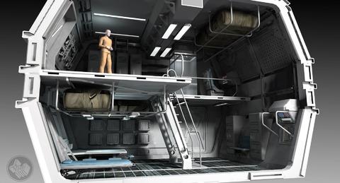 L'intérieur des vaisseaux Carterpillar et Cutlass de Star Citizen en images conceptuelles
