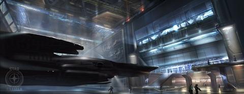 Aperçu en images conceptuelles du hangar astéroïde